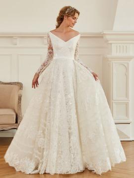 wedding dress, wedding gown, rustic vintage attire, vintage wedding attire, wedding attire, lacey wedding dress, 3/4 sleeve wedding dress lace, lacey wedding dresses with sleeves, long sleeve lace wedding dress